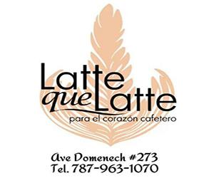 Anuncio Latte que Latte Santa Rosa